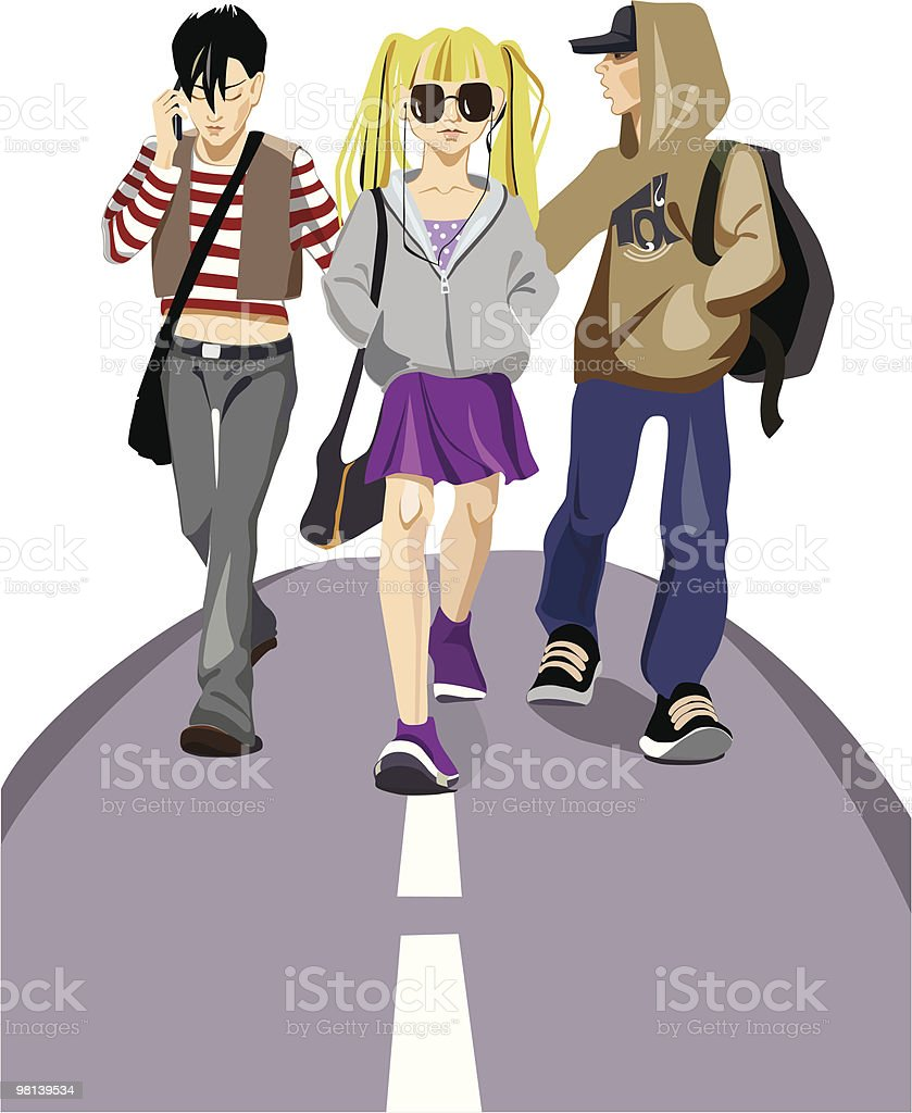 teenagers royalty-free teenagers stock vector art & more images of art product