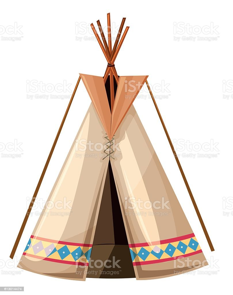 royalty free teepee clip art vector images illustrations istock rh istockphoto com indian teepee clipart native american teepee clip art