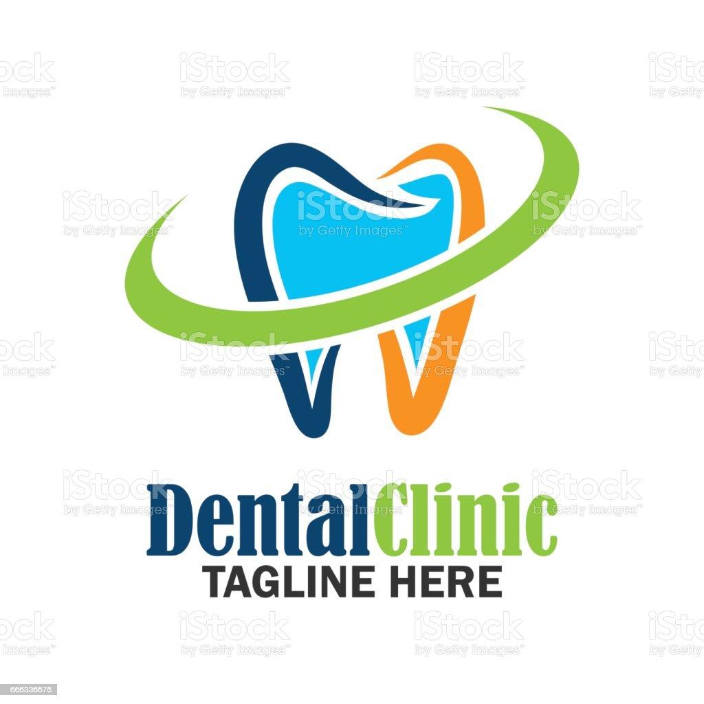 歯科歯/口科医/歯科クリニック アイコン。フラットのベクトル図 ベクターアートイラスト