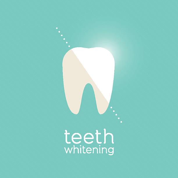 bildbanksillustrationer, clip art samt tecknat material och ikoner med teeth whitening - tandblekning