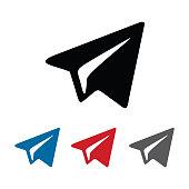 istock telegram icon logo 1273553034