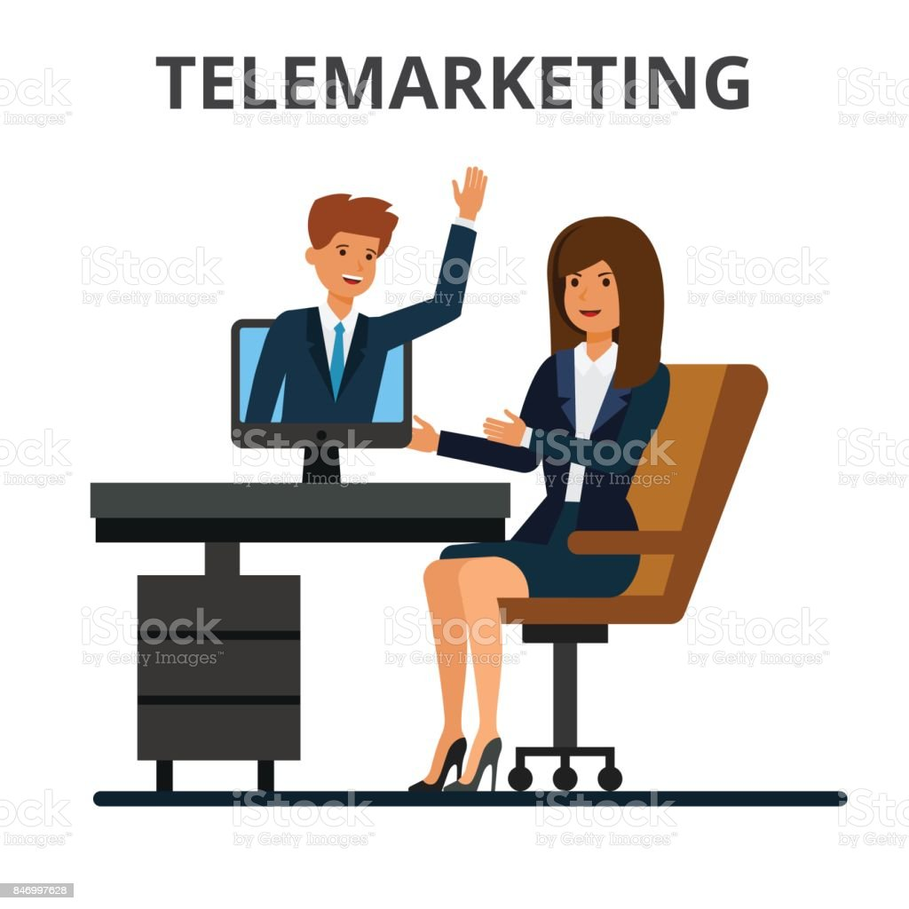 Telemarketing Online Sales Business Conference Video ...