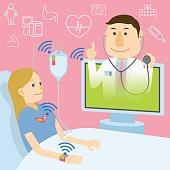 telemedicine, remote medicine image