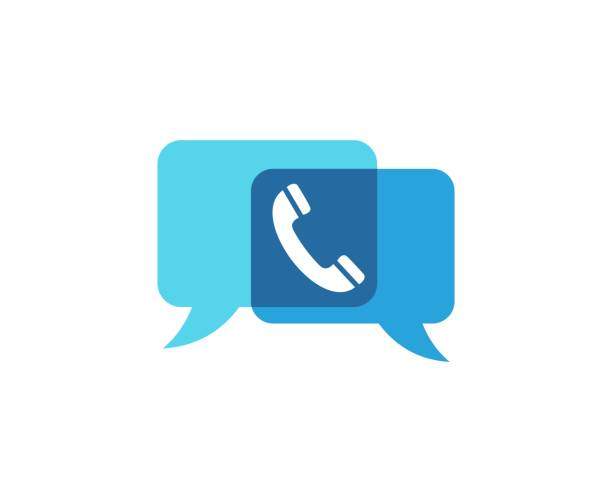 telephone icon - call center stock illustrations