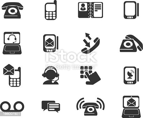 Telephone Icons. See also: