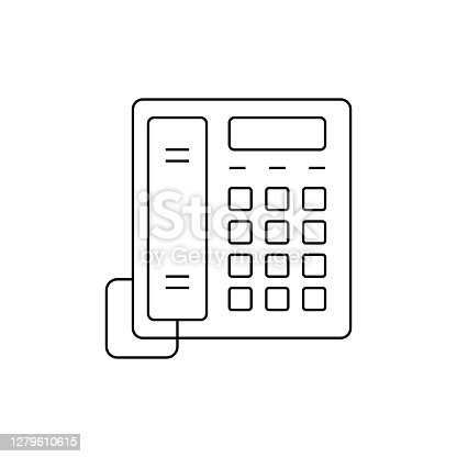 Telephone Line Icon