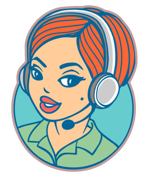 Top 60 Switchboard Operator Clip Art, Vector Graphics and ... |Telephone Operator Clipart