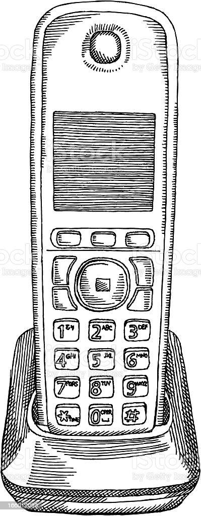 Telephone royalty-free stock vector art