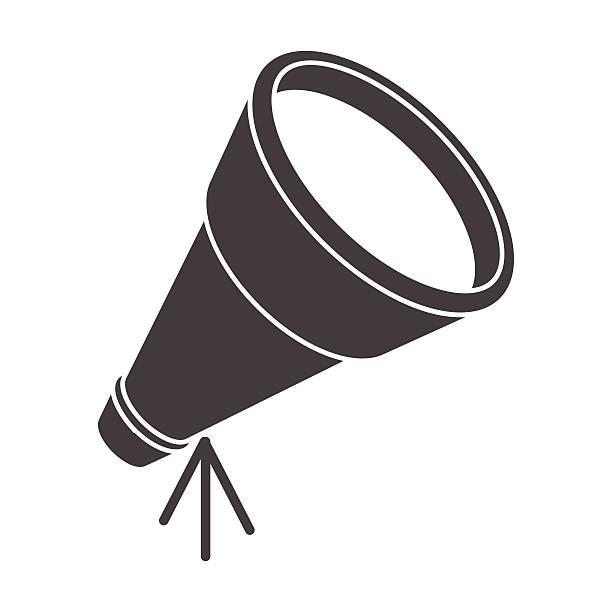 telescope - sternwarte stock-grafiken, -clipart, -cartoons und -symbole