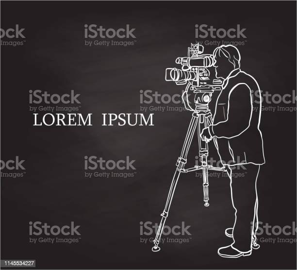 Clipart Kameramann Bilder | Hochauflösende Premium-Bilder