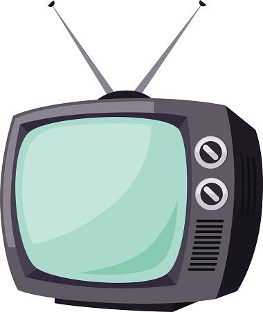 Fernseher Comic
