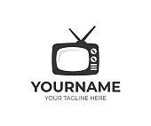 istock Television design. Streaming TV vector design. TV broadcast design 1138021721