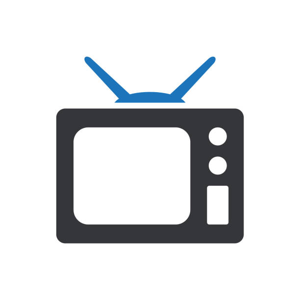 Television Icon Entertainment - Television Icon television set stock illustrations