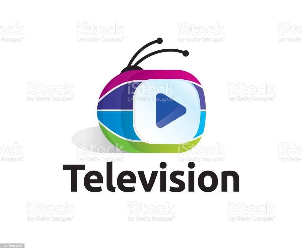 Television vector icon