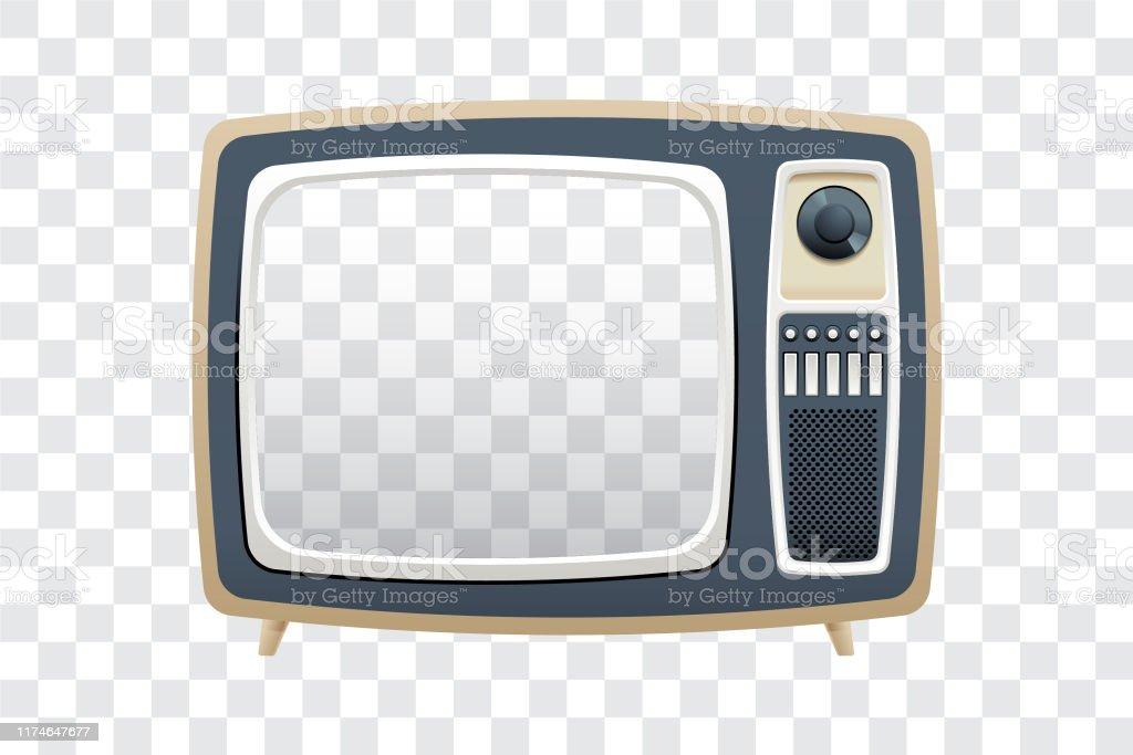 fernsehen - Lizenzfrei 1960-1969 Vektorgrafik