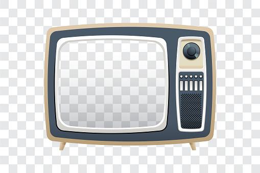 Fernsehen Stock Vektor Art und mehr Bilder von 1960-1969