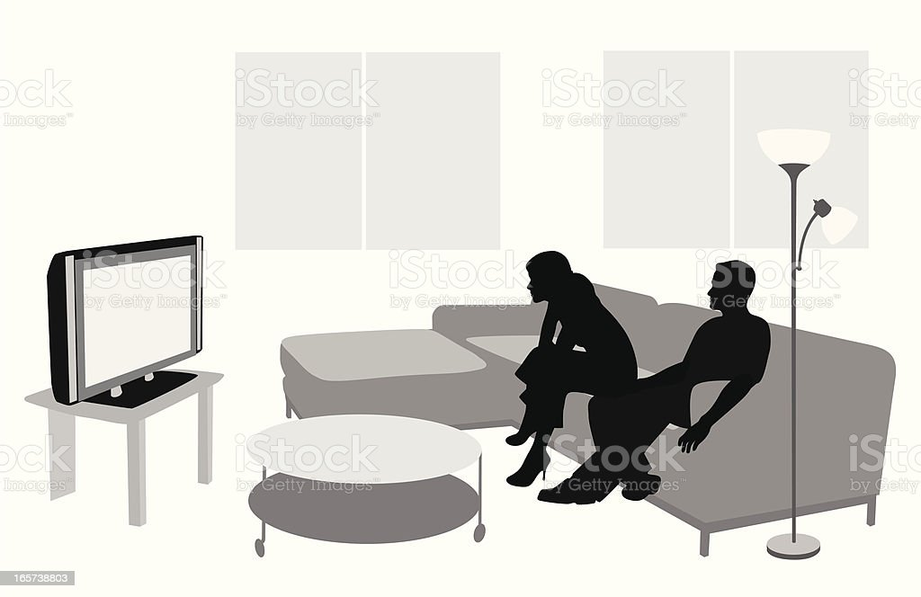 Television Vector Silhouette royalty-free television vector silhouette stock vector art & more images of adult