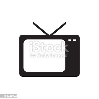Television Set, Wave Pattern, Icon, Television Industry