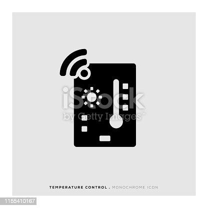 istock Temperature Control Icon 1155410167