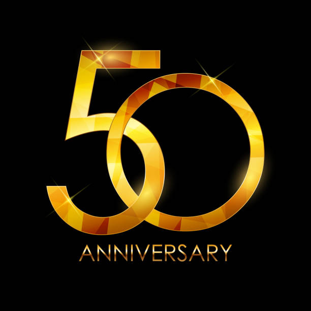 Top 60 50th Anniversary Clip Art, Vector Graphics And
