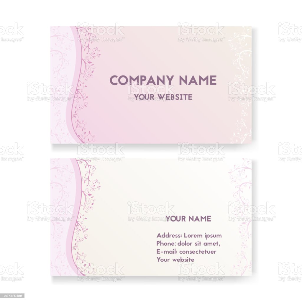 Business Cards For Salons Choice Image - Free Business Cards