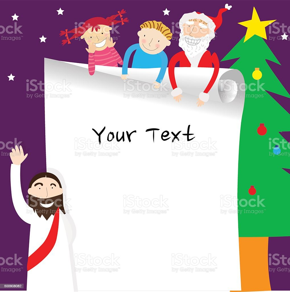 Template Christmas 3 Stock Vector Art & More Images of Backgrounds ...