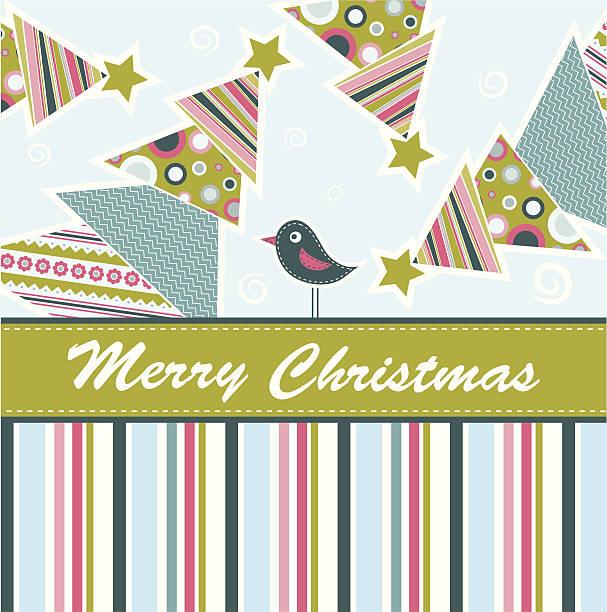 weihnachts-grußkarte mit vorlage - dompfaff stock-grafiken, -clipart, -cartoons und -symbole