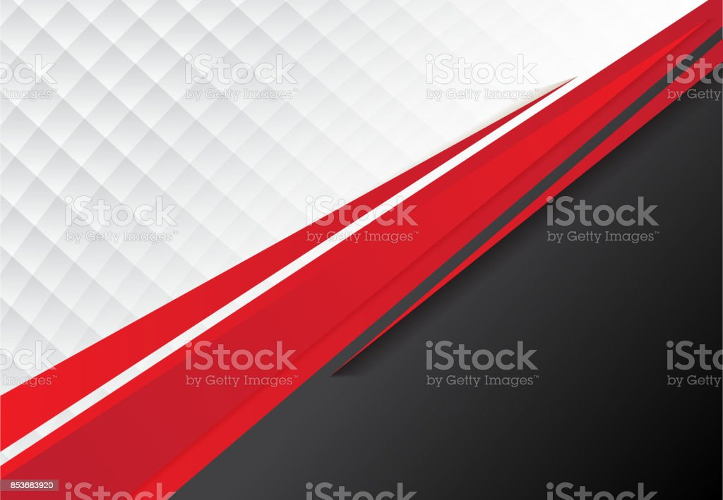 template corporate concept red black grey and white contrast background. Vector graphic design illustration vector art illustration