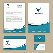 Template corporate style.  vector illustration for your design
