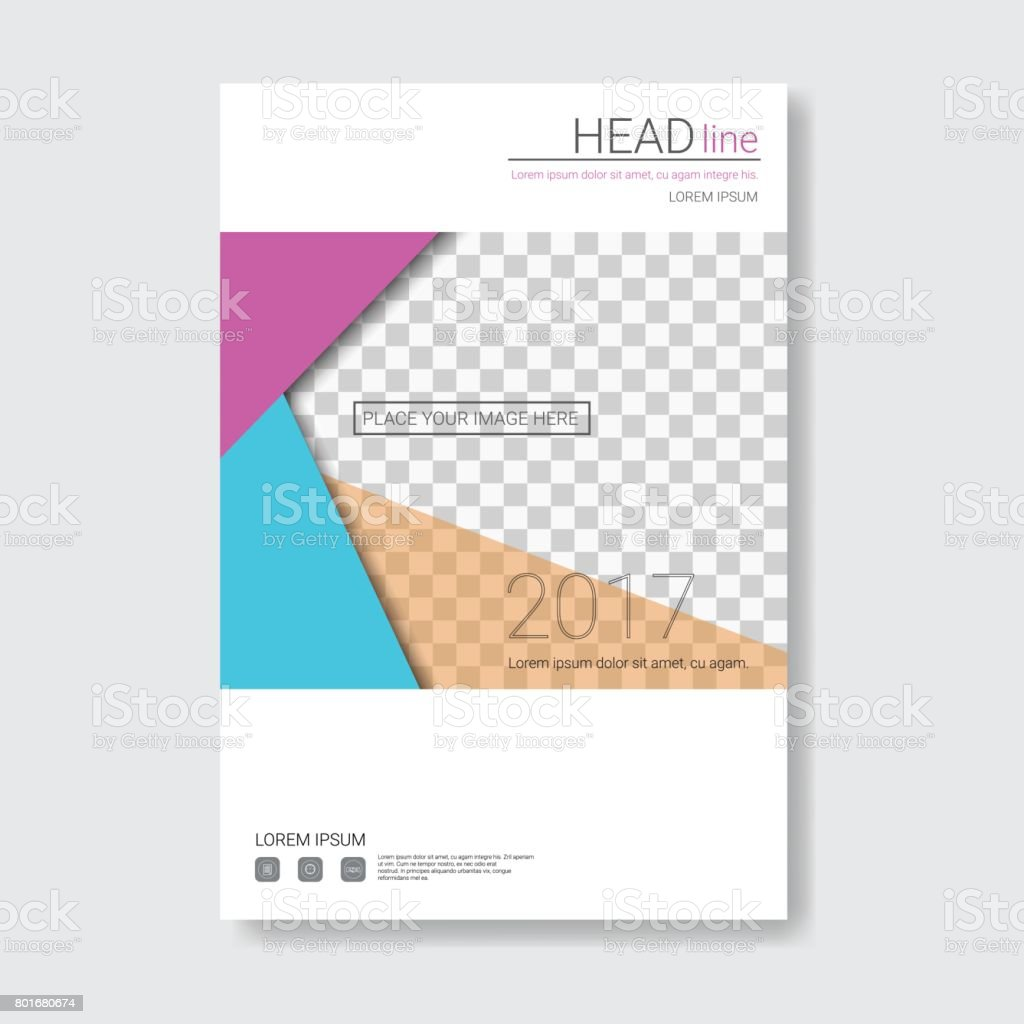 Diseño De Plantilla Folleto Informe Anual Presentación Corporativa ...