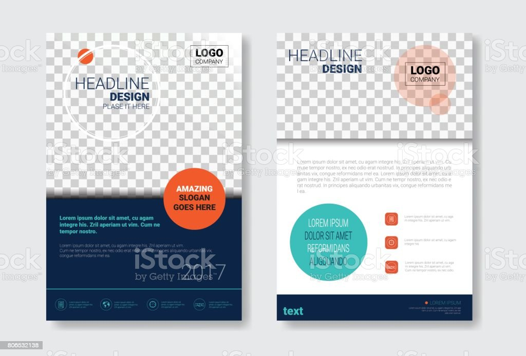 Template Design Brochure Set, Annual Report, Magazine, Poster, Corporate Presentation Collection, Portfolio, Flyer With Copy Space