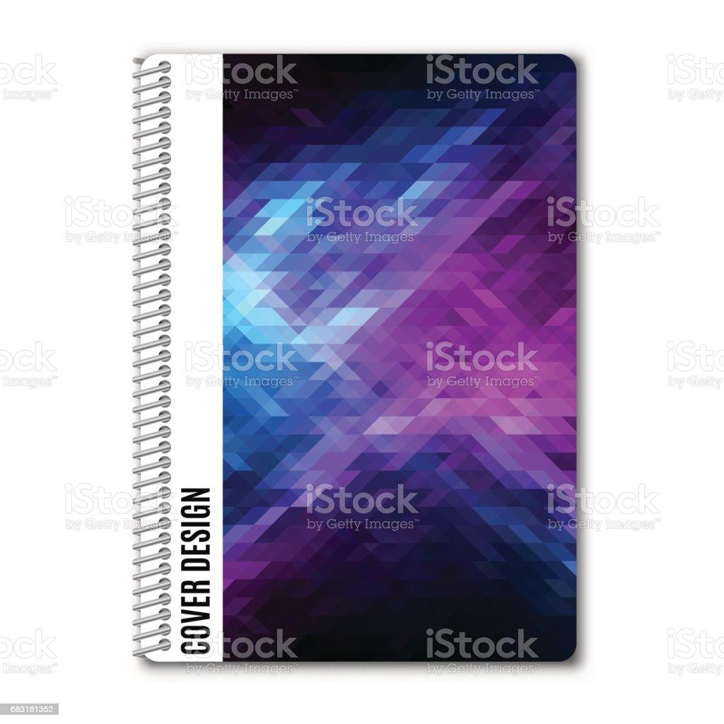 範本設計涵蓋印刷,向量圖。 免版稅 範本設計涵蓋印刷向量圖 向量插圖及更多 low-poly-modelling 圖片
