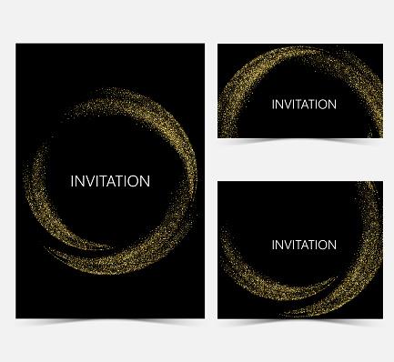 Template Design Einladungen Stock Vektor Art und mehr Bilder von Abstrakt