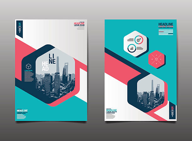 Template design Layout ,Brochure , Flyer , Geometric , vector, Abstract Modern Backgrounds vector art illustration