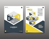 Template design, Layout,Brochure Design Templates,Geometric Abstract Modern Backgrou