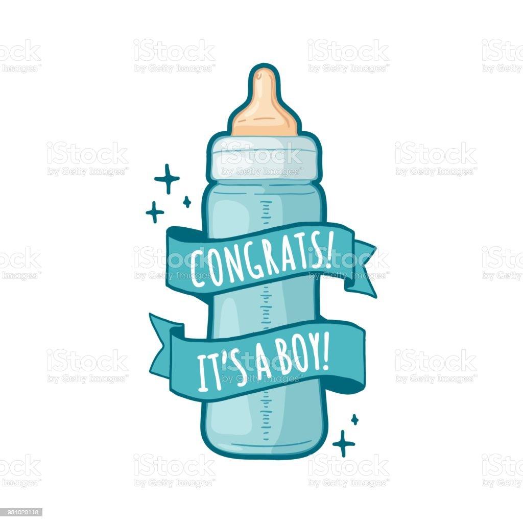 赤ちゃんシャワー デザインのテンプレート デザイン子供の誕生日のための