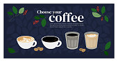istock Template design with specialty coffee 1199461768