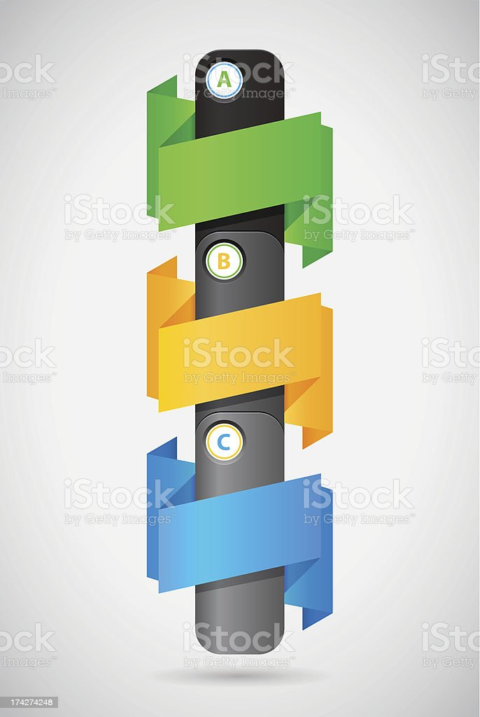 template elements without text royalty-free stock vector art