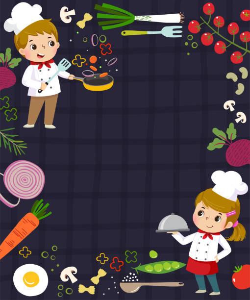 1 893 Chef Borders Illustrations Clip Art Istock
