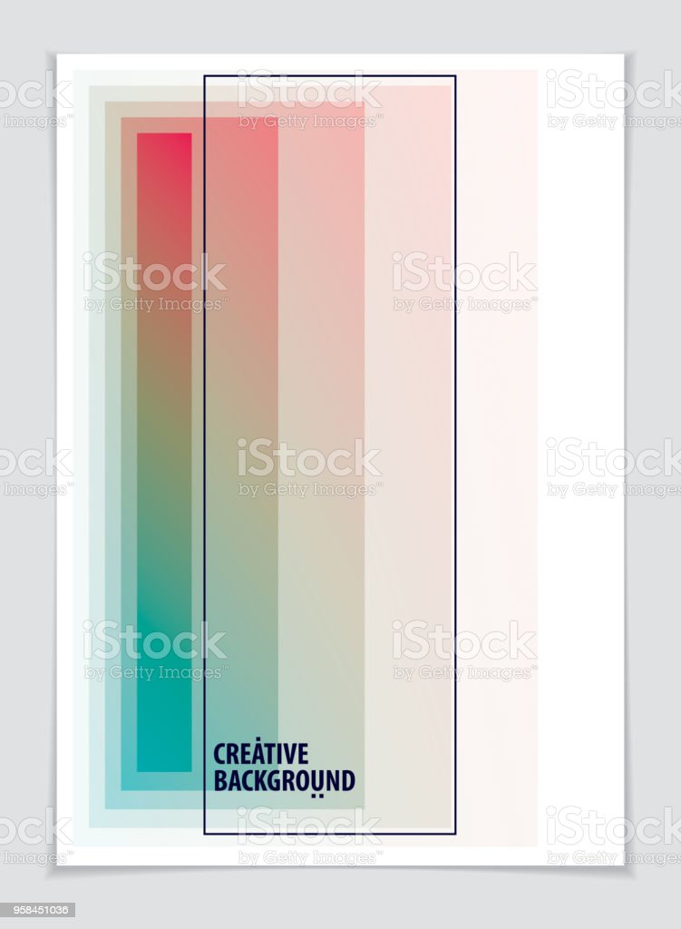 Template for Cover, Placard, Poster, Flyer and Banner Design. Cool geometric vector background for your design. Minimalistic brochure design. vector art illustration
