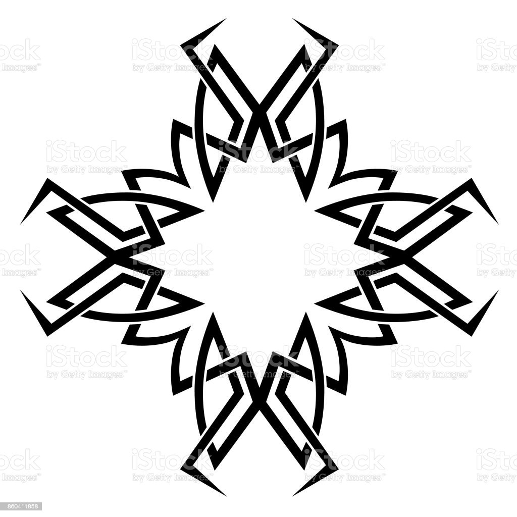 Tattoo Tribal Designs Template For Design Of Machine Embroidery