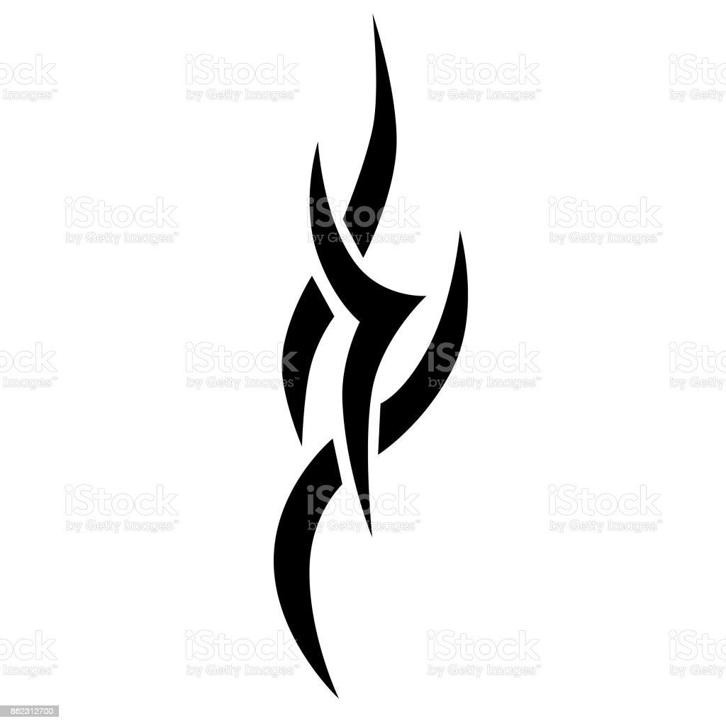 c06c4785c TATTOO TRIBAL DESIGNS. Template for design of machine embroidery.  royalty-free tattoo tribal