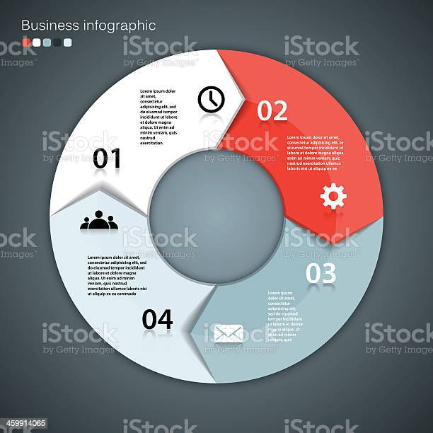 Template For Your Business Project In A Modern Vector Design Stock Illustration - Download Image Now