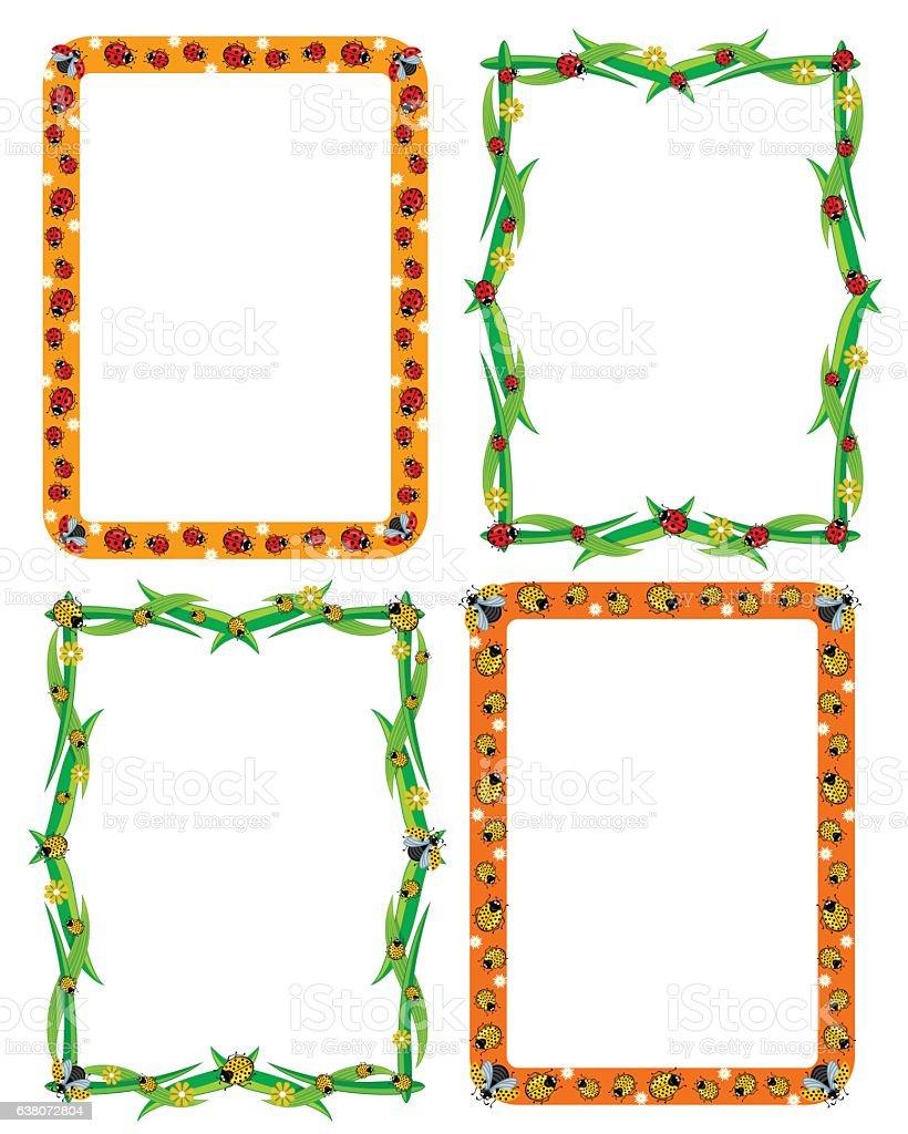 Template Frame Border For Decoration Or Invitation Cards With – Invitation Card Border Design