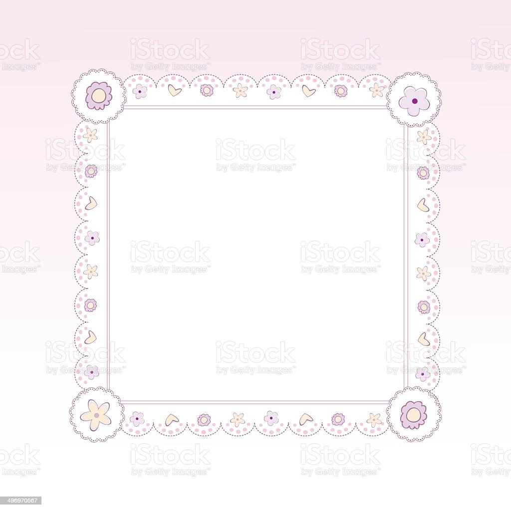 Ilustración de Diseño De Marco De Plantillas Para Tarjetas De ...