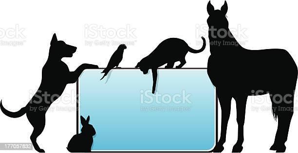 Template graphic for signage with silhouettes animals vector id177057832?b=1&k=6&m=177057832&s=612x612&h=0b8xallykjrvylzwijcflxzk0isjkp3nemgvm3g m6m=