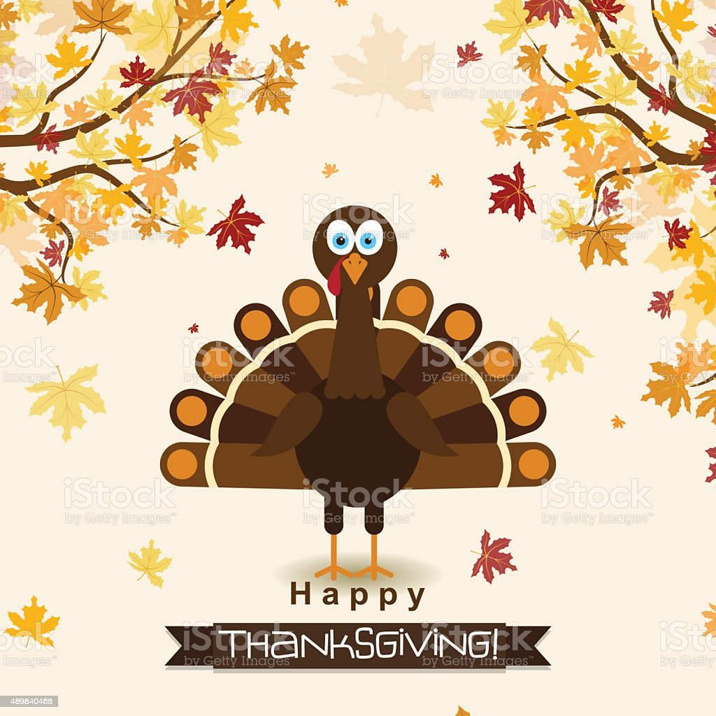 Template greeting card with a happy thanksgiving turkey vector template greeting card with a happy thanksgiving turkey vector royalty free template greeting card kristyandbryce Images