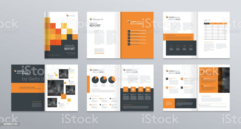 template layout design with cover page for company profile ,annual report , brochures, flyers, presentations, leaflet, magazine,book . and  vector a4 size for editable. vector art illustration