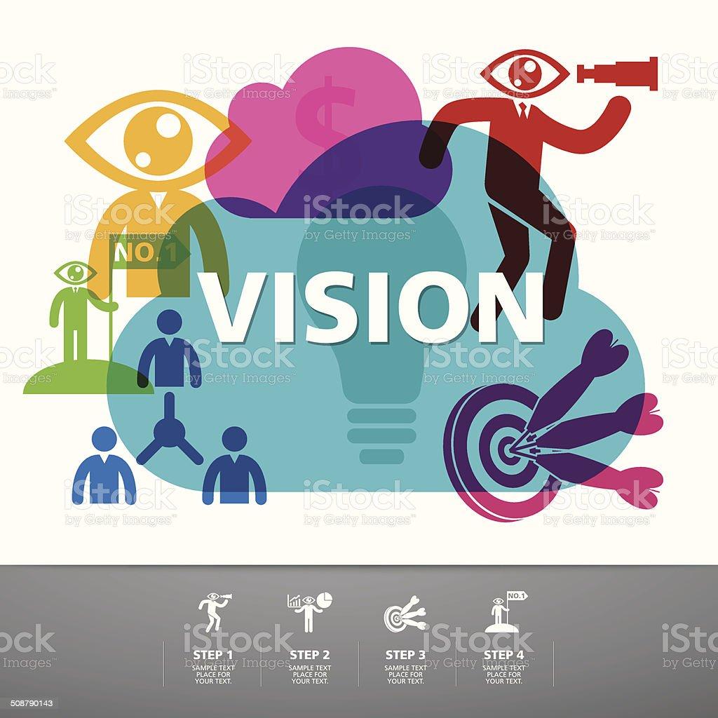 template modern info-graphic design vector art illustration