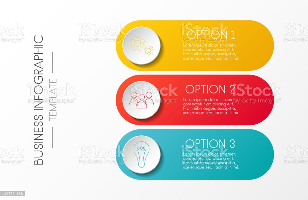 Template of company milestone with options. Vector. vector art illustration